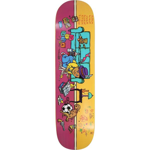 "Pizza Skateboards Day Care Skateboard Deck - 8.25"" x 32"""