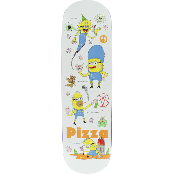 "Pizza Skateboards Despicable Skateboard Deck - 8.5"" x 32.125"""
