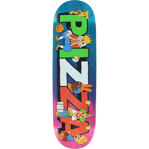 "Pizza Skateboards Party Assorted Colors / Stain Skateboard Deck - 8.75"" x 32.3"""