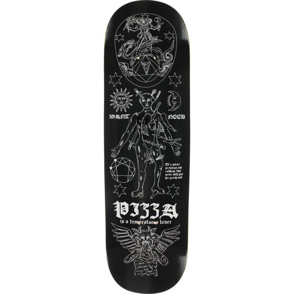 "Pizza Skateboards Tempest Black Skateboard Deck - 8.5"" x 32.125"""