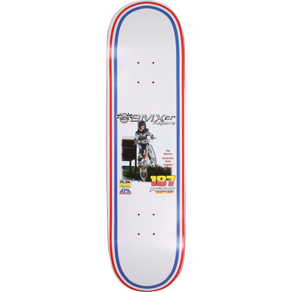 "Pizza Skateboards Zach ""Ducky"" Kovacs BMXER Skateboard Deck - 8.25"" x 32"""