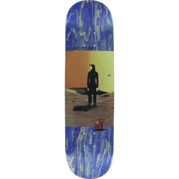 "Pizza Skateboards Michael Pulizzi Contact Skateboard Deck - 8"" x 32"""