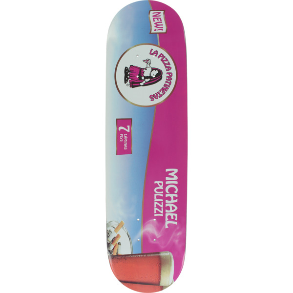 "Pizza Skateboards Pulizzi Cervesa Skateboard Deck - 8.25"" x 32"""