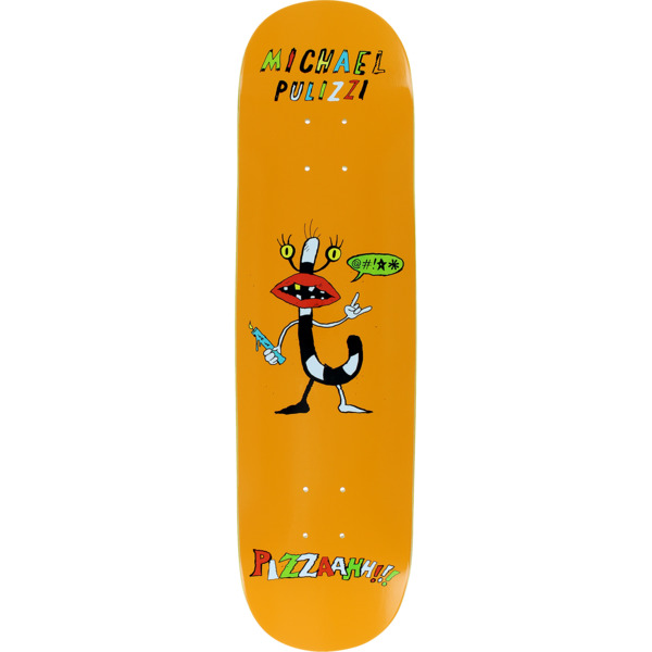 "Pizza Skateboards Michael Pulizzi Monster Skateboard Deck - 8"" x 31.5"""