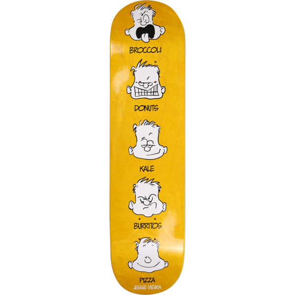 "Pizza Skateboards Jesse Vieira Feelings Skateboard Deck - 8"" x 31.5"""