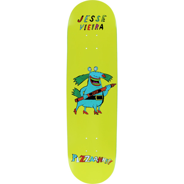 "Pizza Skateboards Jesse Vieira Monster Skateboard Deck - 8.12"" x 32.5"""