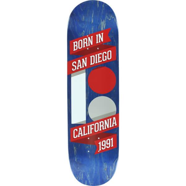 """Plan B Skateboards Born In SD Skateboard Deck - 8.3"""" x 32.125"""""""
