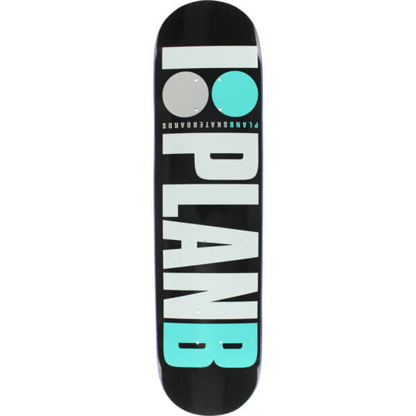 "Plan B Skateboards OG Teal Skateboard Deck - 8.25"" x 31.125"""