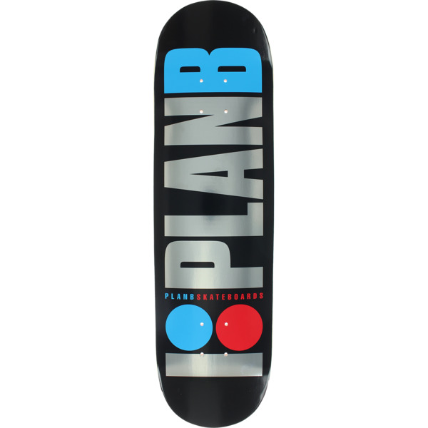 """Plan B Skateboards OG Foil Skateboard Deck - 8.25"""" x 32.25"""""""