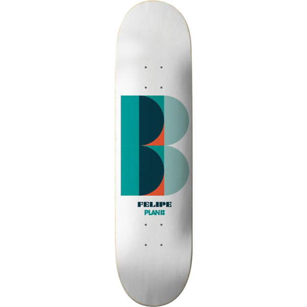 "Plan B Skateboards Felipe Gustavo Deco Skateboard Deck - 8.125"" x 31.75"""