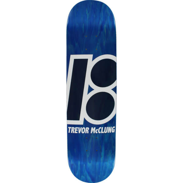 "Plan B Skateboards Trevor McClung Stained Skateboard Deck - 8.1"" x 31.75"""