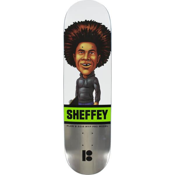 "Plan B Skateboards Sean Sheffey MVP Skateboard Deck - 8"" x 31.75"""