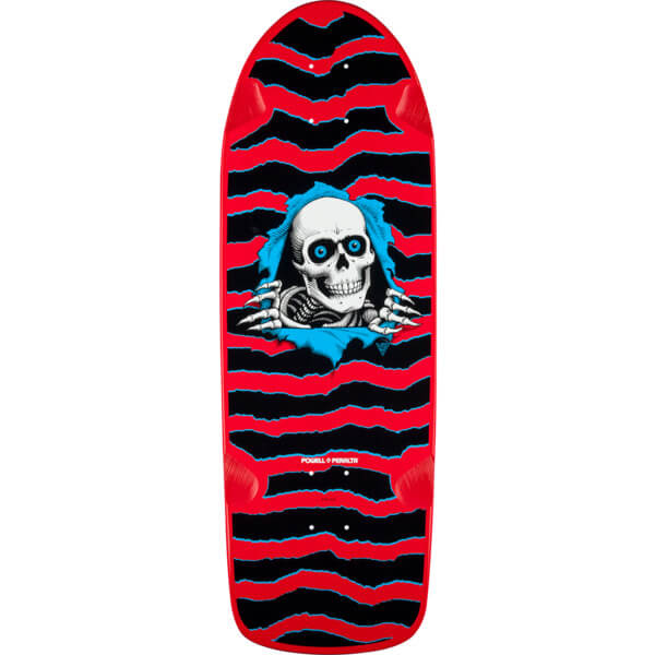 Powell Peralta Og Ripper Red Old School Skateboard Deck