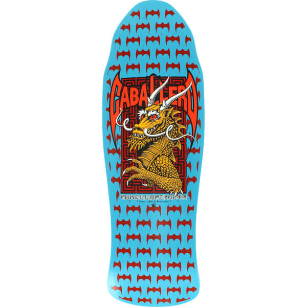Powell Peralta Steve Caballero Street 11 Blue Old School Skateboard Deck -  9.62 x 29.75 - Warehouse Skateboards 30dc6ef238a