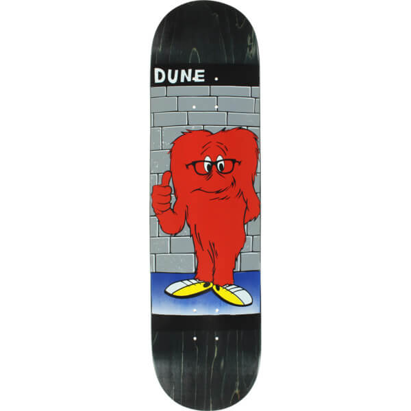 "Prime Heritage Dune Glasses Gossamer Black Skateboard Deck - 8.25"" x 32"""