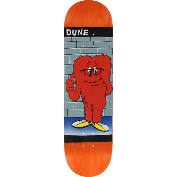 "Prime Heritage Dune Glasses Gossamer Orange Skateboard Deck - 8.5"" x 32.25"""
