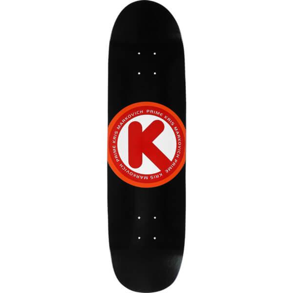 """Prime Heritage Kris Markovich Circle K Black Skateboard Deck - 8.12"""" x 31.75"""""""