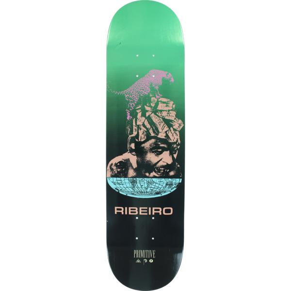 b1f80063 Primitive Skateboarding Carlos Ribeiro Equator Teal Skateboard Deck - 8 x  31.25 - Warehouse Skateboards