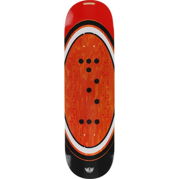 "Real Skateboards Dan Mancina Braille Skateboard Deck - 8.25"" x 32"""