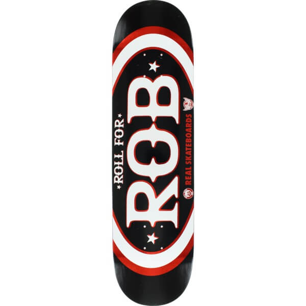 Real Skateboards Roll for Rob Actions Realized Board for Rob Pontes