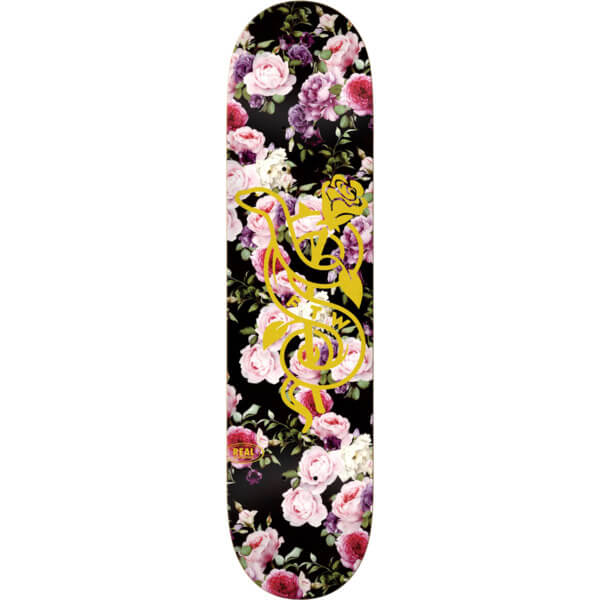 "Real Skateboards Bloom Skateboard Deck - 8.5"" x 32.62"""