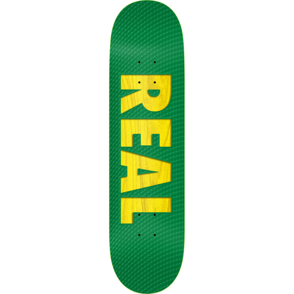 """Real Skateboards Bold Team Assorted Stain Color Skateboard Deck - 8.38"""" x 32.75"""""""