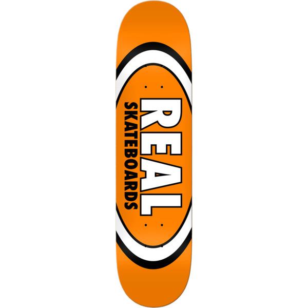 "Real Skateboards Classic Oval Skateboard Deck - 7.5"" x 29"""