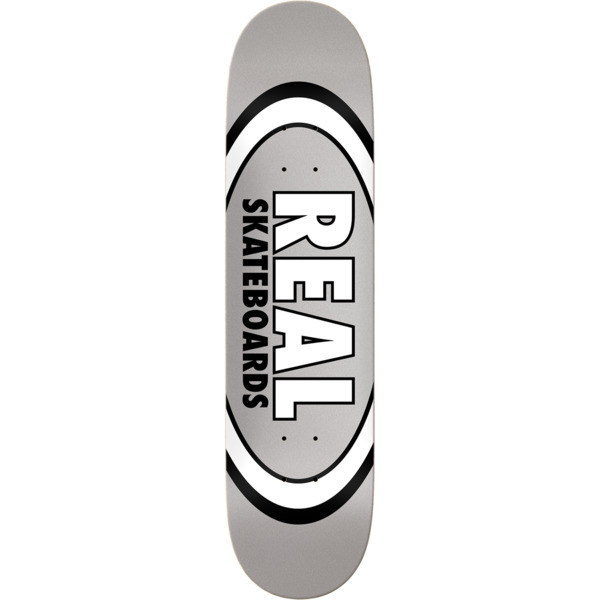 "Real Skateboards Classic Oval Skateboard Deck - 7.75"" x 29.5"""
