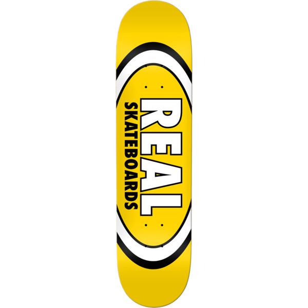 "Real Skateboards Classic Oval Skateboard Deck - 8.06"" x 31.8"""