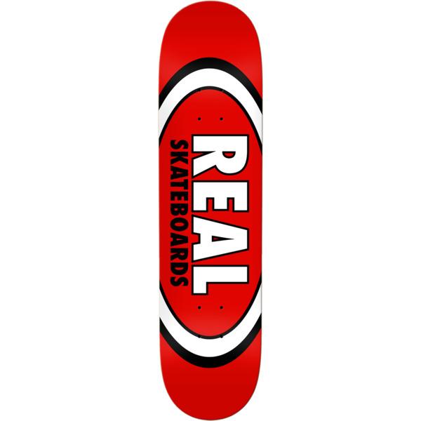 "Real Skateboards Classic Oval Skateboard Deck - 8.12"" x 31.38"""
