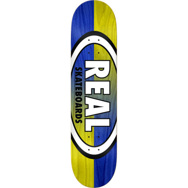 Real Skateboards Double Dip Oval Deck