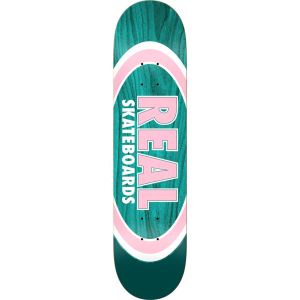 "Real Skateboards Dual Oval Skateboard Deck - 8.06"" x 31.8"""