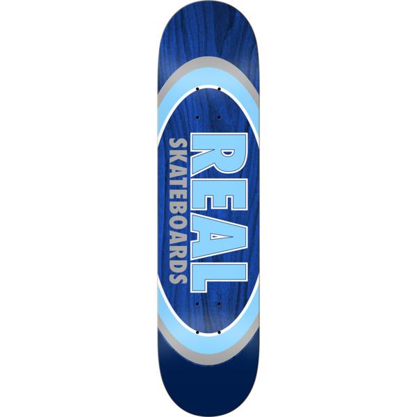 "Real Skateboards Dual Oval Skateboard Deck - 8.25"" x 32"""