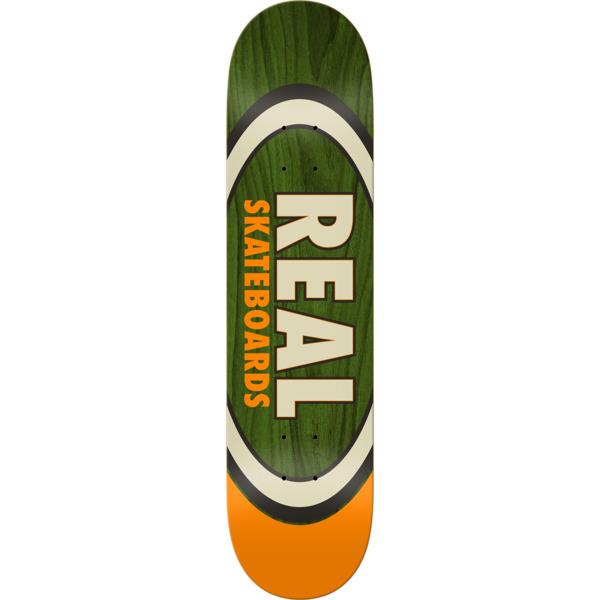"Real Skateboards Dual Oval Skateboard Deck - 8.5"" x 32.25"""