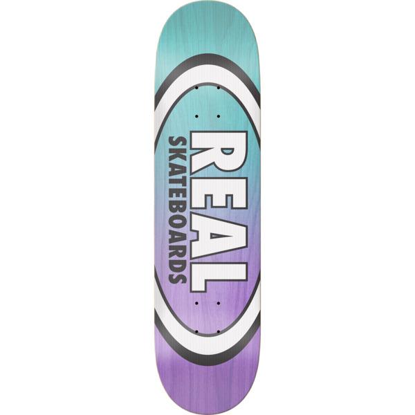 "Real Skateboards Shine on Oval Skateboard Deck - 8.06"" x 31.8"""