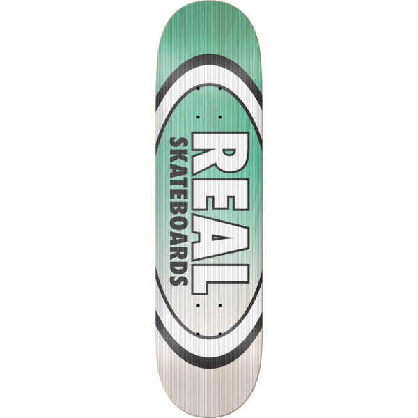 "Real Skateboards Shine on Oval Skateboard Deck - 8.5"" x 32.25"""