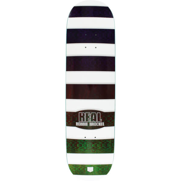"Real Skateboards Robbie Brockel Sonoran Skateboard Deck - Low Pro II - 8.06"" x 32"""