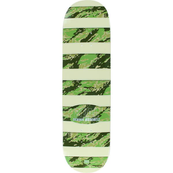 "Real Skateboards Dennis Busenitz Camo Tan / Silver Skateboard Deck - Low Pro II - 8.25"" x 32"""
