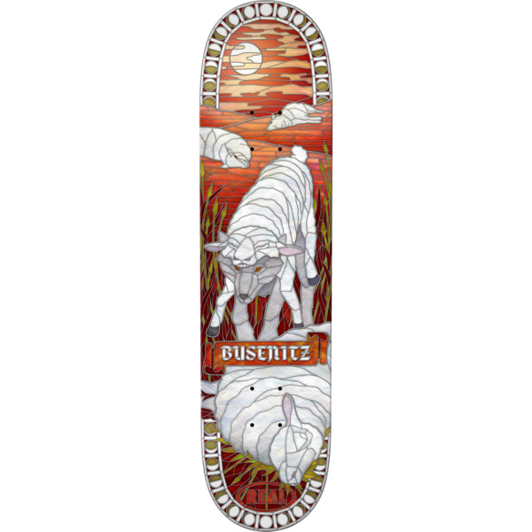 """Real Skateboards Dennis Busenitz Cathedral II Skateboard Deck - 8.06"""" x 31.97"""""""