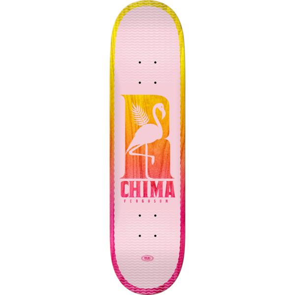 "Real Skateboards Chima Ferguson Be Free Skateboard Deck - 8.25"" x 32"""