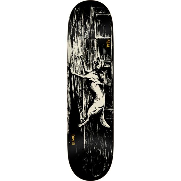 "Real Skateboards Davis Torgerson Canines Skateboard Deck - 8.06"" x 31.8"""