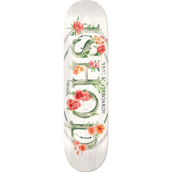"Real Skateboards Ishod Wair Blossom Oval Skateboard Deck - 8.25"" x 32"""