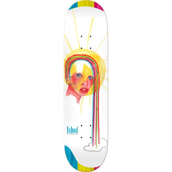"Real Skateboards Ishod Wair Dessie Jackson Sketches Skateboard Deck - 8.25"" x 32.22"""