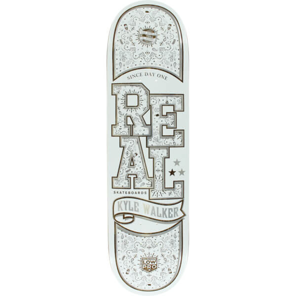 Real Skateboards Poppin' Off Low Pro 2 Deck