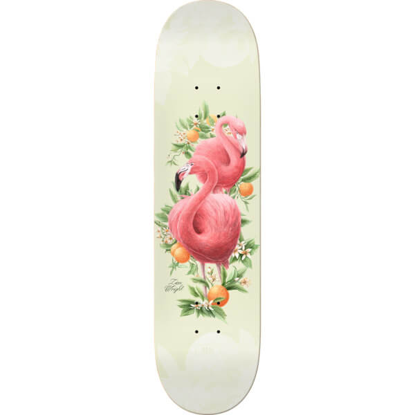 0beda00f Real Skateboards Zion Wright Natural Domain Skateboard Deck - 8.38 x 32.43  - Warehouse Skateboards