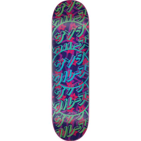 "Santa Cruz Skateboards Blossom Dot Skateboard Deck - 8"" x 31.6"""