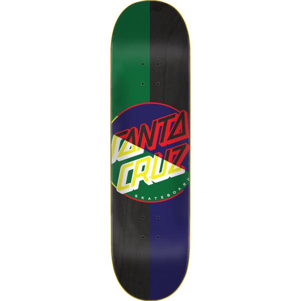 "Santa Cruz Skateboards Dot Blocker Skateboard Deck - 8"" x 31.6"""