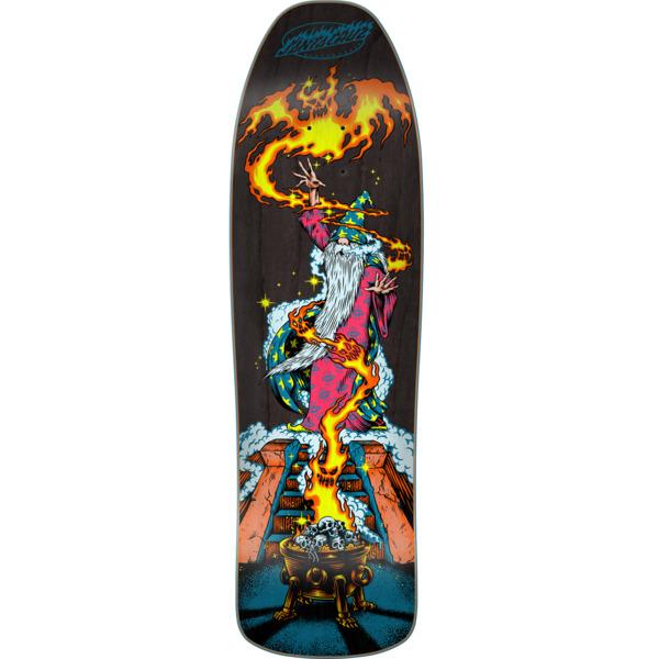 "Santa Cruz Skateboards Wizard Preissue Skateboard Deck - 9.35"" x 31.7"""
