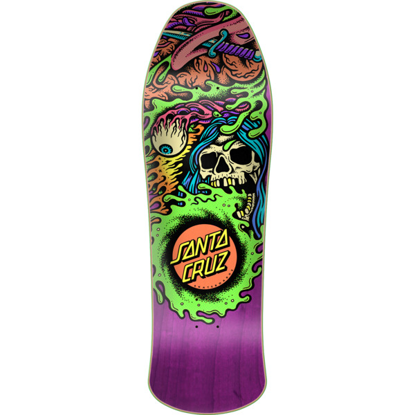 "Santa Cruz Skateboards Gorenado Pre Issue Skateboard Deck - 10"" x 31.75"""