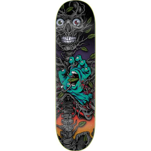 "Santa Cruz Skateboards Hand Crew Bio Everslick Skateboard Deck - 8"" x 31.6"""